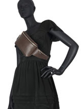 Leather Belt Bag N City Derby Nathan baume Brown n city 23-vue-porte