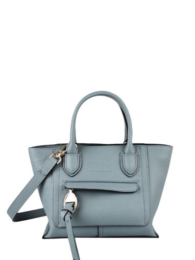 Longchamp Mailbox Sacs porté main Bleu