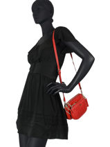 Sac Bandouliere Arie Guess Rouge arie VG788570-vue-porte