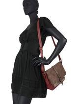 Crossbody Bag Meline Miniprix Red meline MD1591-vue-porte