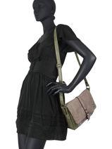 Crossbody Bag Meline Miniprix Green meline MD1591-vue-porte
