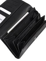 Leather Confort Wallet Hexagona Black confort 467779-vue-porte