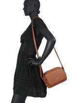 Shoulder Bag Soft Miniprix Brown soft G7455-vue-porte
