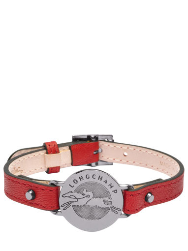 Longchamp Le pliage cuir Jewelry Red