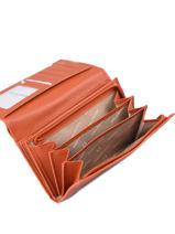 Leather Confort Wallet Hexagona Orange confort 467779-vue-porte