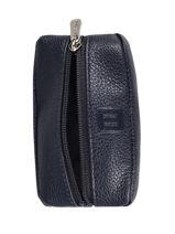 Leather Confort Wallet Hexagona Blue confort 461031-vue-porte