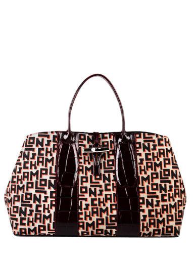 Longchamp Roseau jacquard lgp Handbag