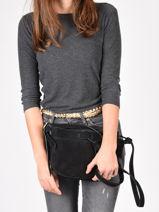 Crossbody Bag Tornade Leather Etrier Black tornade ETOR05-vue-porte