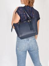 Shoulder Bag A4 Nomad Michael kors Blue nomad T0GNXT2L-vue-porte