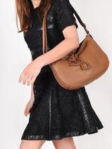 Crossbody Bag Tradition Leather Etrier Brown tradition EHER2A-vue-porte