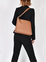 Leather Sophia Shoulder Bag Nathan baume Brown victoria 20-vue-porte