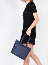 Shoulder Bag L.12.12 Concept Lacoste Blue l.12.12 concept NF2037PO-vue-porte