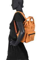 Backpack S 1 Compartment Cabaia tour du monde S-vue-porte