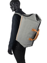 Duffle Bag Cabaia Gray travel DUFF-vue-porte
