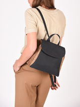 Backpack Dahlia Woomen Black dahlia WDAH06-vue-porte