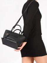 Longchamp Mailbox Sacs porté main Noir-vue-porte