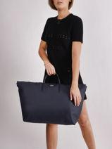 Travel Bag L.12.12 Concept Lacoste Blue l.12.12 concept NF1947PO-vue-porte