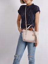 Top Handle Sullivan  Leather Michael kors Pink sullivan T0GNXT1L-vue-porte
