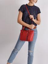 Top Handle Sullivan  Leather Michael kors Red sullivan T0GNXT1L-vue-porte