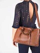 Longchamp Longchamp 3d zip Sacs porté main Marron-vue-porte