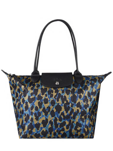 Longchamp Le pliage panthÈre Hobo bag