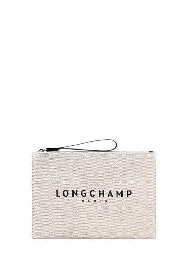 Longchamp Essential toile Pochettes Beige
