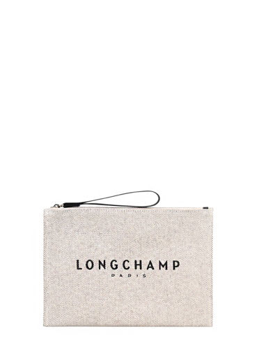 Longchamp Essential toile Clutches Beige