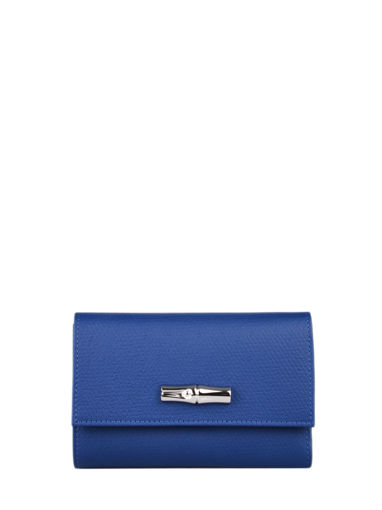 Longchamp Roseau nÉon Portefeuilles Bleu