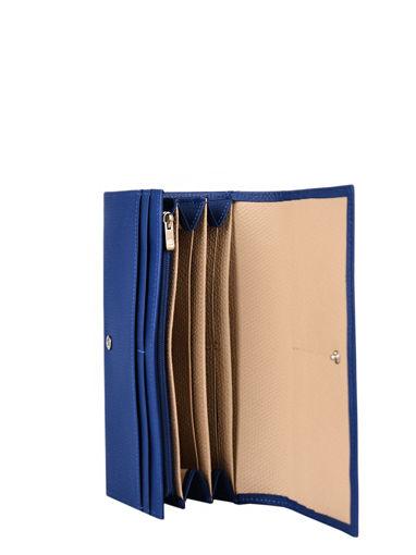 Longchamp Roseau nÉon Wallet Blue-vue-porte