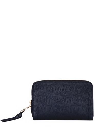 Longchamp Mailbox Wallet Brown