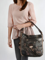Universe Shoulder Bag Anekke Brown universe 31702072-vue-porte