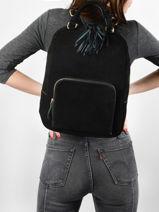 Leather Tornade Backpack Etrier Black tornade ETOR13-vue-porte
