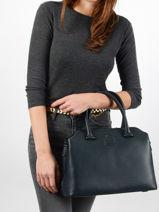 Top Handle Balade Leather Etrier Blue balade EBAL06-vue-porte