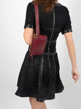 Sac Banane Tradition Cuir Etrier Rouge tradition EHER28-vue-porte