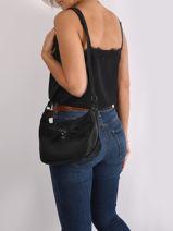 Alva Crossbody Bag Hexagona Black alva 256828-vue-porte