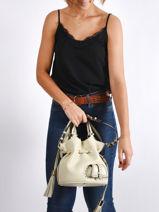 Small Tote Bag Premier Flirt Lancel premier flirt A10109-vue-porte