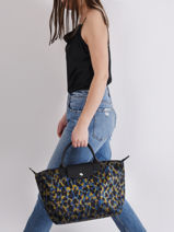Longchamp Le pliage panthÈre Handbag-vue-porte