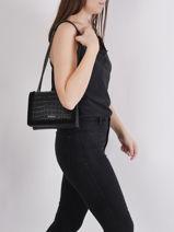 Shoulder Bag Arizona Leather Etrier Black arizona EARI25-vue-porte