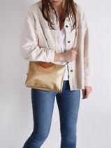 Shoulder Bag Maya Lancaster Gold maya 27-vue-porte