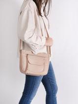 Shoulder Bag  Leather Lancaster Brown 86-vue-porte