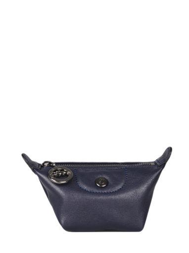 Longchamp Le pliage cuir Coin purse