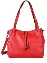 Gracieuse Shoulder Bag Hexagona Red gracieuse 316747