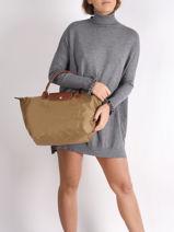 Longchamp Le pliage Sacs porté main-vue-porte