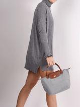 Longchamp Sacs porté main-vue-porte