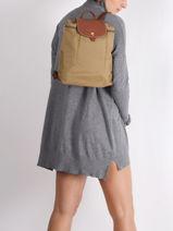 Longchamp Backpack-vue-porte