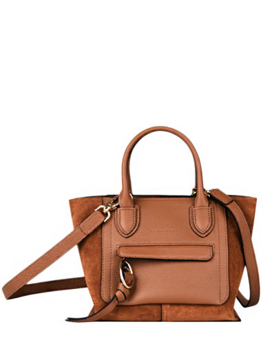 Longchamp Mailbox soft Sacs porté main Marron