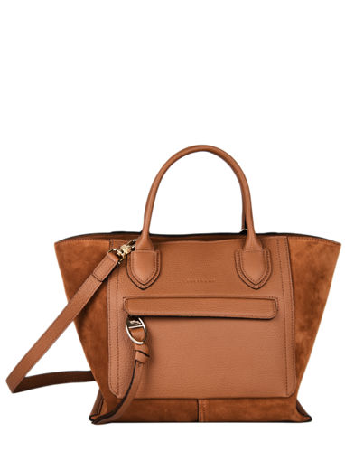 Longchamp Mailbox soft Handbag Blue