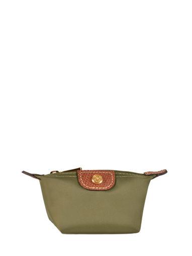 Longchamp Coin purse Green