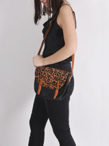 Sauvage Crossbody Bag Miniprix Black sauvage H6773-vue-porte