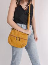 Classic Crossbody Bag Miniprix Yellow classic H7967-vue-porte